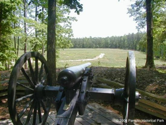 Petersburg, VA: Pamplin Historical Park Breakthrough Trail
