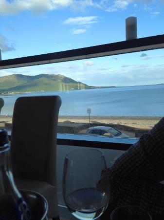 The Balmoral: View from restaurant