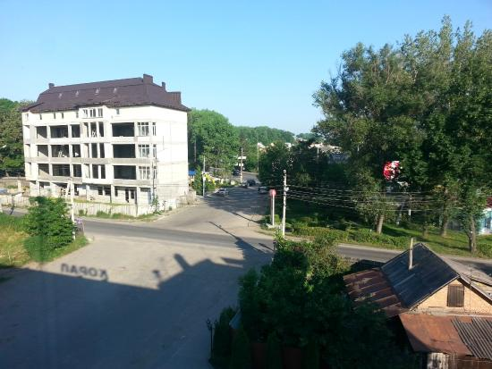 Hotel Koral: Вид из окна.