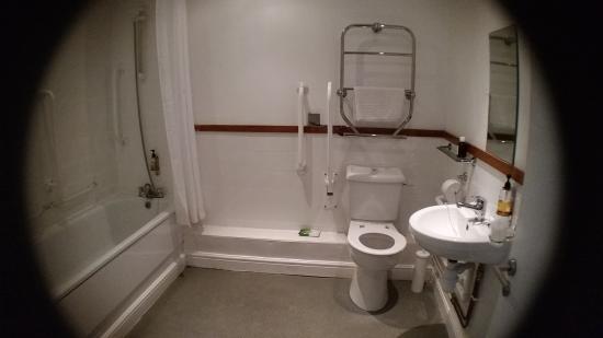 Plas Derwen: De badkamer met hulpmiddelen