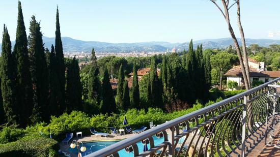 Villa Belvedere - Florence: vista dal terrazzo!