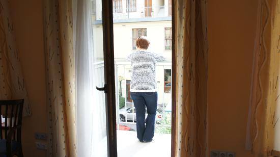 Austria Suites : Балкон
