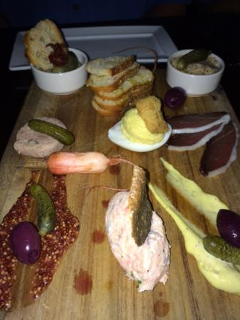 The House of William & Merry: Chefs tasting board