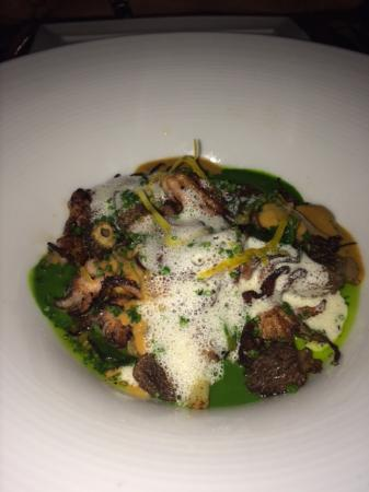 The House of William & Merry: Grilled octopus