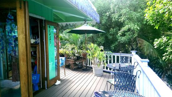 The Patio Picture Of Garden By The Sea B B Cruz Bay Tripadvisor