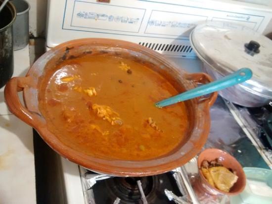 Journeys Beyond the Surface - Oaxaca: Estofado ready to eat!