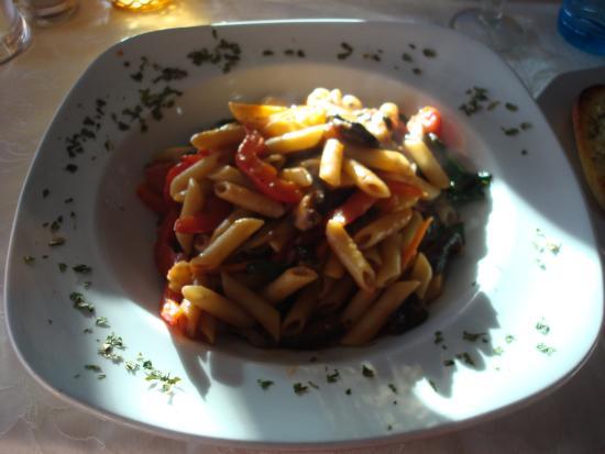 San Francisco: Vegetable pasta