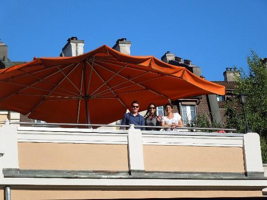 Hotel du Boulevard: la terrasse