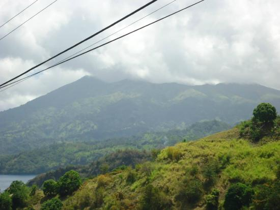 The New Montrose Hotel: A view of La Soufriere, St.Vincent; tour arranged by New Montrose Hotel