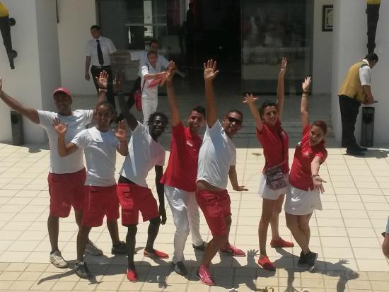 Hotel Cedriana: equipe de ouf !!!