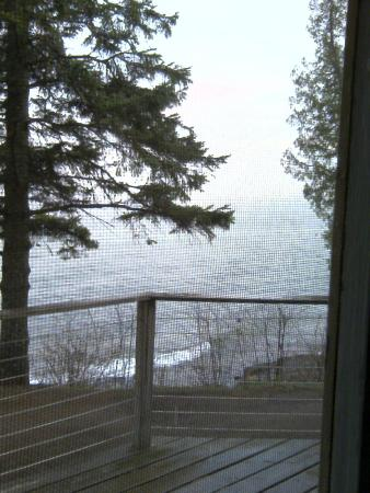 Solbakken on Superior : View from Cabin