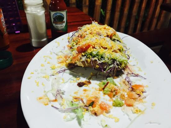 Tico Mex: Awesome tacos and Tico style burrito!!