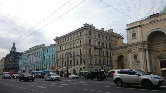 ин тур невский пр: