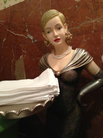 Ladies Bathroom Host