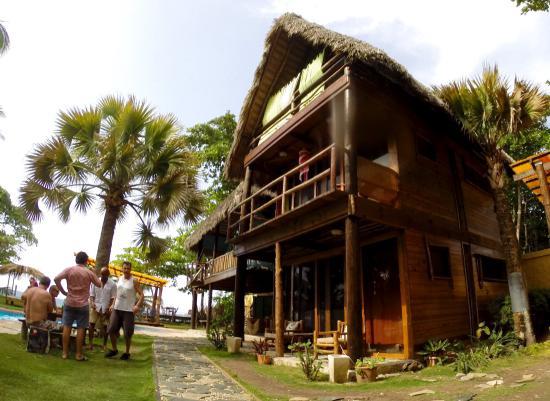 Cabarete Maravilla Eco Lodge & Beach: Le style du lodge