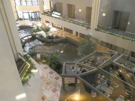 Embassy Suites By Hilton Palm Beach Gardens PGA Boulevard: Overview Of  Atrium From Elevator