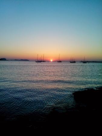 Hotel Arenal : de prachtige zonsondergaan
