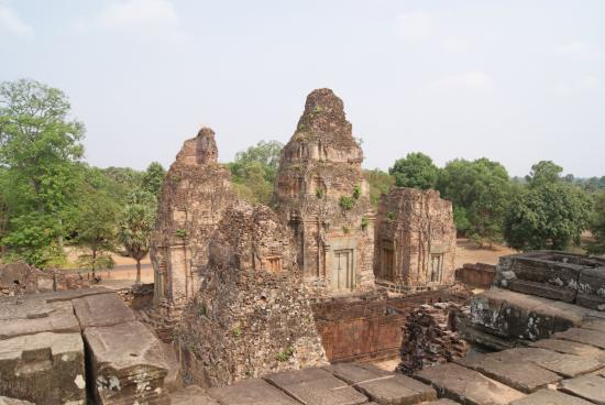 Angkor Wat see the face - Picture of Angkor Archaeological ...