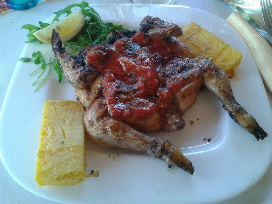 Galletto alla brace con salsa (un Classico) - Picture of La Terrazza ...