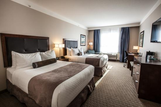 BEST WESTERN PLUS Revelstoke: Deluxe 2 Queen Room