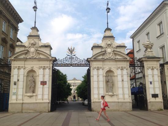 University of Warsaw (Uniwersytet Warszawski): Ворота