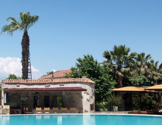 The Osmanli Hani: By the pool
