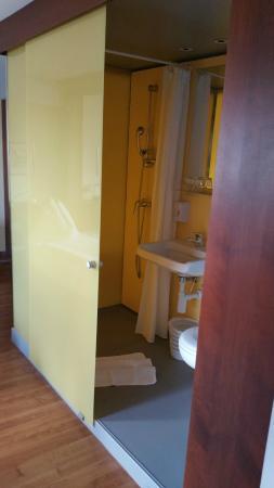 Hotel Goldener Schlussel : The train sized toilet!!