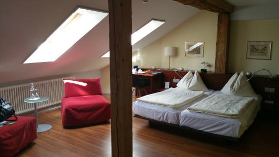 Hotel Goldener Schlussel : The excellent unique room