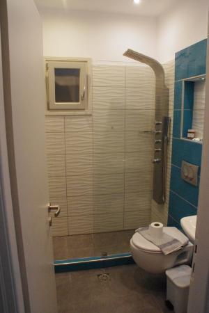 Askas Pension: salle de bain