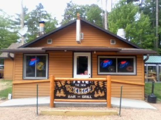 Saint Germain, WI: The New Twilight Bar and Grill Front Entrance