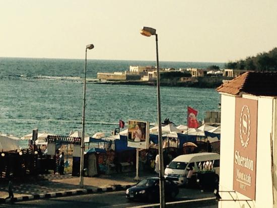 Alexander The Great Motazah Hotel : sea view