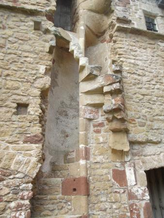 Cleeve Abbey: Remains of The Abbot's Spiral Staircase To His Private Chambers