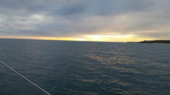 خليج سيمبسون, سانت مارتن: sunset