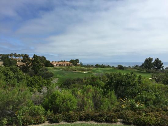 The Resort at Pelican Hill: View of golf course and resort