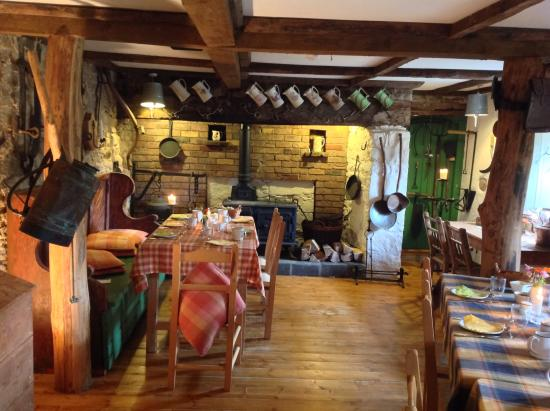 Whitegate, Irland: Dining room.