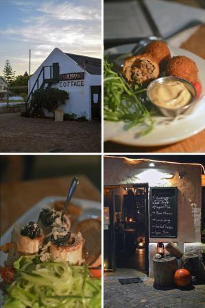 Fisherman's Cottage: boerie balls - roasted bone marrow
