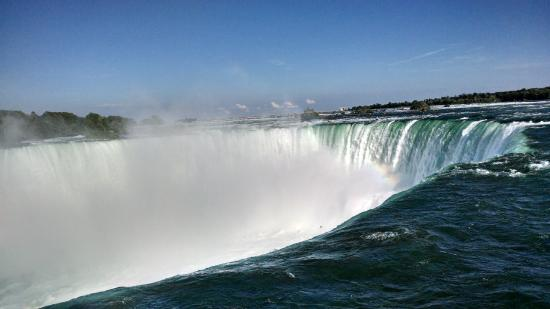 Niagara Falls Marriott Fallsview Hotel & Spa: From the hotel to the People Mover to THIS