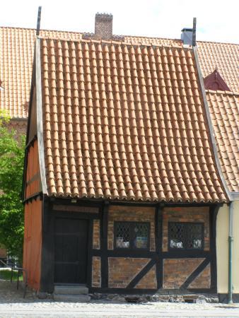 Koege, Dinamarca: Bindingsværkshus fra 1527.