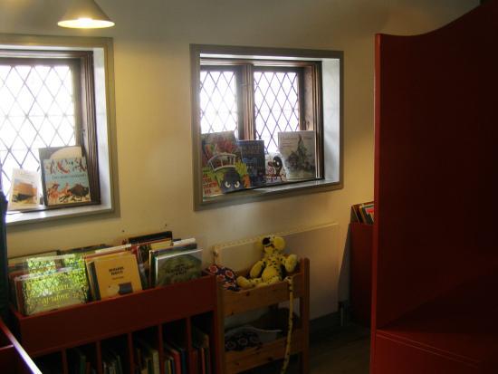 Koege, Denemarken: Masser af børnebøger.