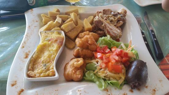 Jangal Cafe: Entrée + plat + dessert