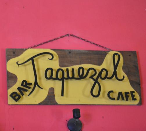 Taquezal: sign