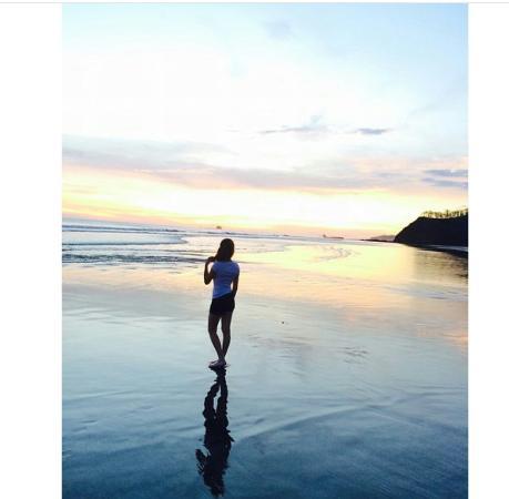 Playa Yankee, نيكاراجوا: yankee beach down the hill
