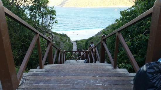 Prainhas do Pontal do Atalaia : Escadaria Prainhas