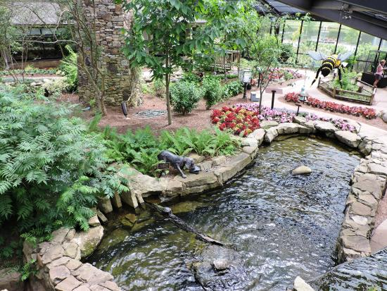 Sculpture in the four seasons garden picture of - Huntsville botanical gardens hours ...