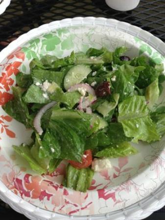Short & Sweet Bakery & Cafe: Greek Salad