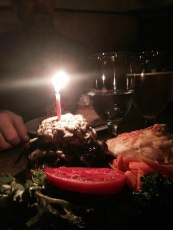 Fernie Cattle Company: BBB burger (birthday time!!)
