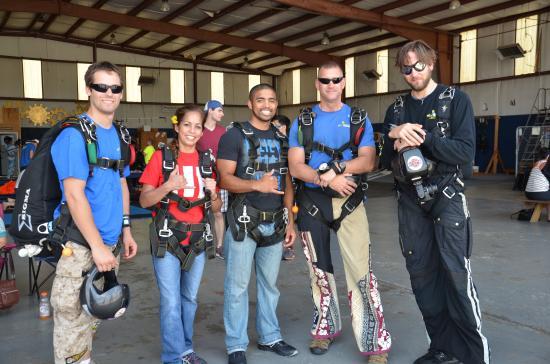 Thomaston, GA: Our jump crew!