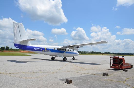 Thomaston, GA: Our plane