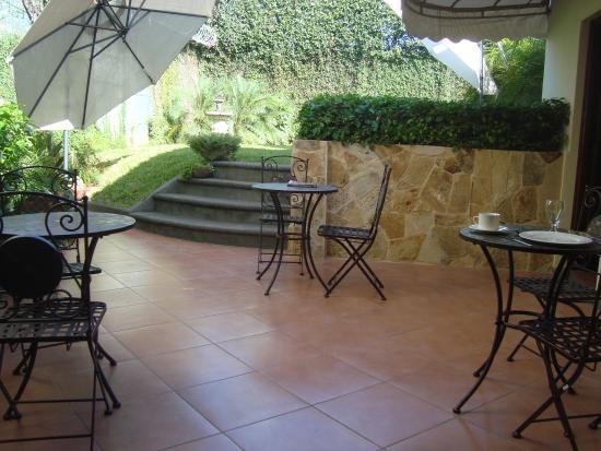 Colibri Hotel y Desayuno : Terrace