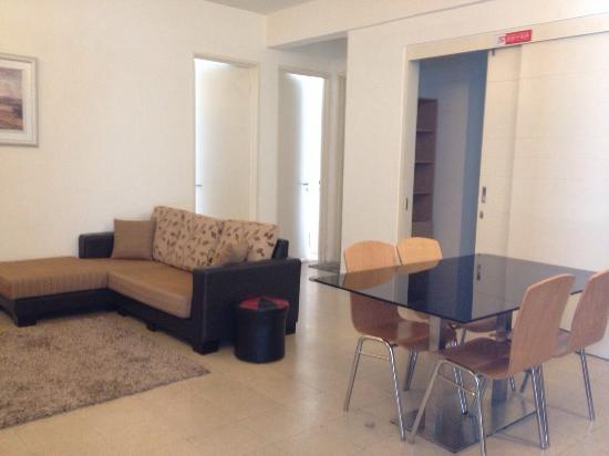 One-Stop Serviced Residence & Office: 2 bedroom unit.